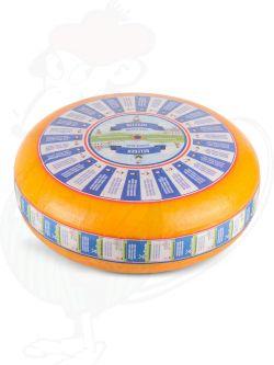 Formaggio Gouda stagionato (16-18 settimane) | Qualità Premium | Formaggio intero 12 chilo