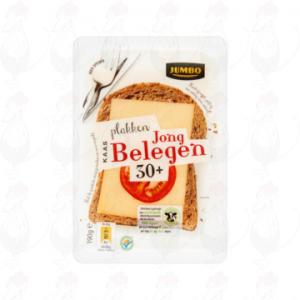 Huismerk Jong Belegen Plakken Kaas 30+ 190g