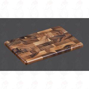Snijplank kopshout 36 x 23 x 2 cm - Acaciahout
