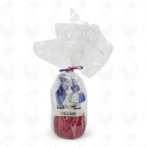 Gift Baby Gouda Cheese - Kissing Couple