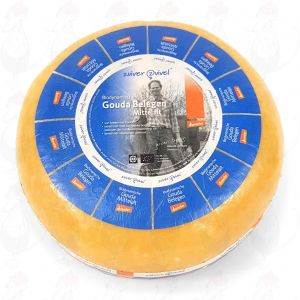 Matured Gouda Organic Biodynamic cheese - Demeter | Entire cheese 5 kilo / 11 lbs