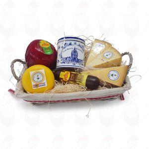 Cesto regalo formaggio e dolce