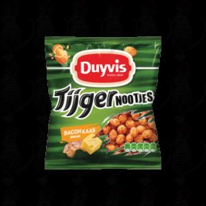 Duyvis Tijgernootjes Bacon Kaas Smaak 280g