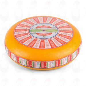 Formaggio di Gouda semi-stagionato (8-10 settimane) | Qualità Premium | Formaggio intero 12 chilo