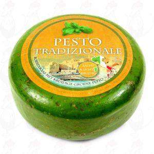 Formaggio Gouda al pesto verde | Qualità Premium | Hele kaas  5,4 chilo