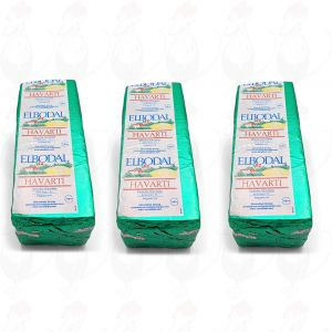 3 X Tilsiter Havarti   Entire cheese 8 kilo / 17.6 lbs