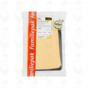Sliced cheese Wapenaer Young 48+ | 350 grams in slices