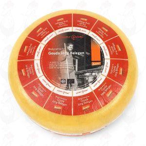 Semi Matured Gouda Organic Biodynamic cheese - Demeter   Entire cheese 12 kilo / 26.4 lbs