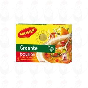 Maggi Groente bouillon vegetarisch 8 tabletten - 80 grammi