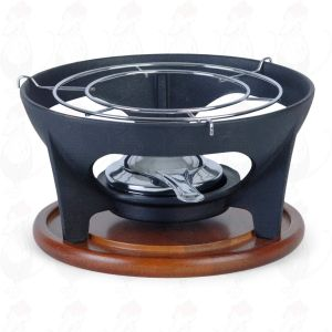 Relance base cast iron with wooden tray