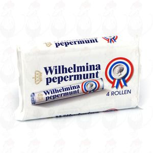 4 rolls of Wilhelmina peppermints