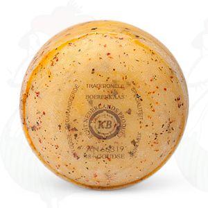 Baby Formaggio Gouda Erbe italiane | Qualità Premium | 400 grammi