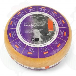 Extra Matured Gouda Biodynamic cheese - Demeter | Entire cheese 5 kilo / 11 lbs