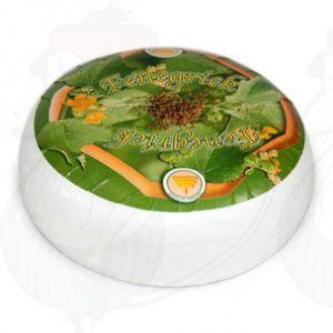 Caprino di Gouda al fieno greco | Qualità Premium | Formaggio intero 4.5 chilo
