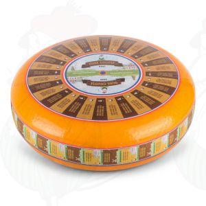 Vecchio Formaggio Gouda (10-12 mesi) | Qualità Premium | Formaggio intero 12 chilo