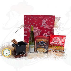 Varied tapas fondue Christmas package - Christmas