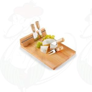 Käsebrett magnetic mit 3 messer und Spieß