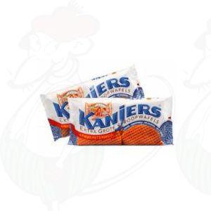 Kanjers Extra Grote Stroopwafels 4x2 stuks - 320 grammi