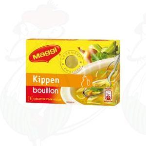 Maggi Kippen bouillon 8 tabletten - 80 grammi