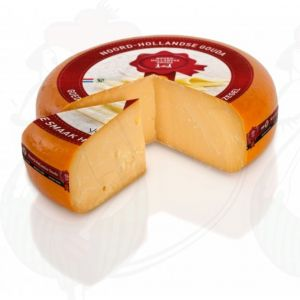 Very old North Holland Gouda cheese with the Red Seal