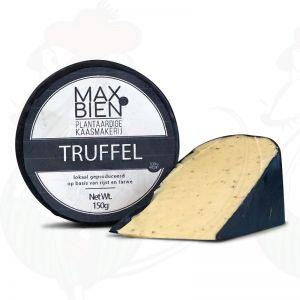 Vegan Truffle Cheese  | Max Bien | Wheel 150 Grams 0.33 lbs